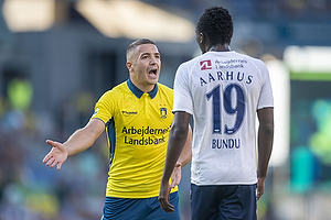 Josip Radosevic (Br�ndby IF), Mustapha Bundu (Agf)