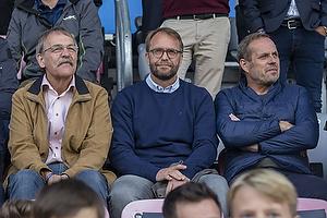 Sten Lerche, bestyrelsesmedlem (Br�ndby IF), Ole Palm�, direkt�r (Br�ndby IF), Carsten V. Jensen, fodbolddirekt�r (Br�ndby IF)