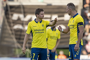 Dominik Kaiser (Br�ndby IF), Kamil Wilczek, anf�rer (Br�ndby IF)