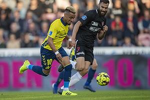 Hany Mukhtar (Br�ndby IF), Tim Sparv (FC Midtjylland)