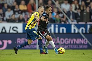 Johan Larsson (Br�ndby IF), Mikkel Anderson (FC Midtjylland)
