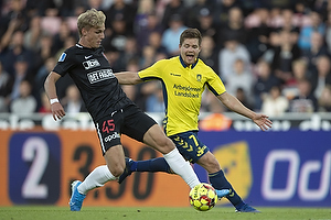 Dominik Kaiser (Br�ndby IF), Gustav Isaksen (FC Midtjylland)