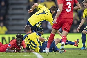 Dominik Kaiser (Br�ndby IF), Kamil Wilczek (Br�ndby IF)