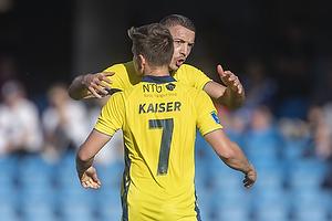 Josip Radosevic (Br�ndby IF), Dominik Kaiser (Br�ndby IF)