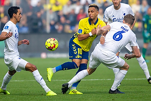 Hany Mukhtar (Br�ndby IF), Jens Stage (FC K�benhavn), Hany Mukhtar (Br�ndby IF)
