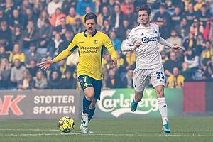 Dominik Kaiser (Br�ndby IF), Rasmus Falk (FC K�benhavn)
