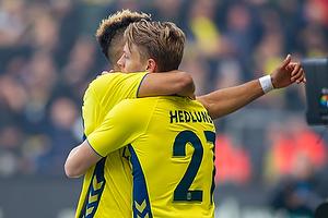 Simon Hedlund, m�lscorer (Br�ndby IF), Hany Mukhtar (Br�ndby IF)
