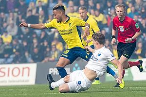 Hany Mukhtar (Br�ndby IF), Jens Stage (FC K�benhavn)