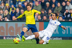 Dominik Kaiser (Br�ndby IF), Carlos Zeca, anf�rer (FC K�benhavn)
