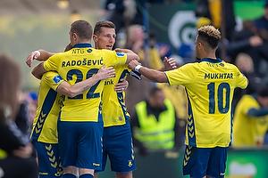 Kamil Wilczek, m�lscorer (Br�ndby IF), Josip Radosevic (Br�ndby IF), Hany Mukhtar (Br�ndby IF)