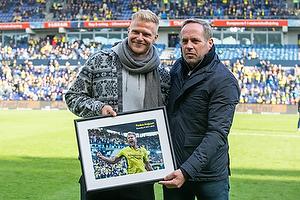 Paulus Arajuuri (Br�ndby IF), Carsten V. Jensen, fodbolddirekt�r (Br�ndby IF)
