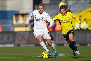 Viktor Fischer (FC K�benhavn), Dominik Kaiser (Br�ndby IF)