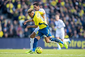 Hany Mukhtar (Br�ndby IF), Carlos Zeca, anf�rer (FC K�benhavn)