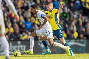Carlos Zeca, anf�rer (FC K�benhavn), Josip Radosevic (Br�ndby IF)
