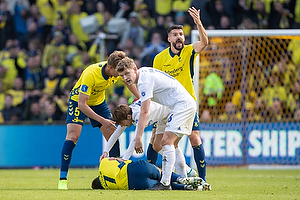Dominik Kaiser (Br�ndby IF), Jens Stage (FC K�benhavn), Anthony Jung (Br�ndby IF)