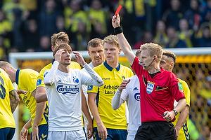 Rasmus Falk (FC K�benhavn), J�rgen Daugbjerg Burchardt, dommer