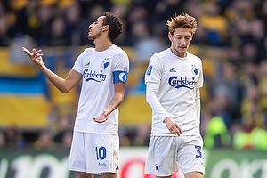 Carlos Zeca, anf�rer (FC K�benhavn), Rasmus Falk (FC K�benhavn)