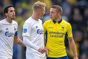 Josip Radosevic (Br�ndby IF), Viktor Fischer (FC K�benhavn)