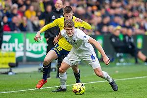 Morten Frendrup (Br�ndby IF), Jens Stage (FC K�benhavn)