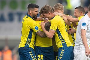 Kamil Wilczek, m�lscorer (Br�ndby IF), Anthony Jung (Br�ndby IF), Andreas Maxs� (Br�ndby IF)