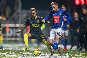Hany Mukhtar (Br�ndby IF), Marcel R�mer (Lyngby BK)