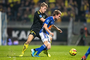 Sigurd Rosted (Br�ndby IF), Uidentificeret person (Lyngby BK)
