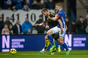 Kamil Wilczek (Br�ndby IF), Nicolai Geertsen (Lyngby BK)