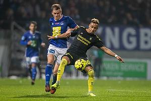 Hany Mukhtar (Br�ndby IF), Kasper Enghardt (Lyngby BK)