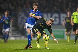 Kasper Enghardt (Lyngby BK), Hany Mukhtar (Br�ndby IF)