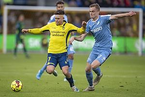 Dominik Kaiser (Br�ndby IF), Erik Marxen (Randers FC)