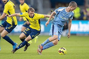 Andr� R�mer (Randers FC), Simon Hedlund (Br�ndby IF)