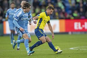 Kamil Wilczek (Br�ndby IF), Erik Marxen (Randers FC)