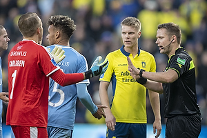 Patrik Carlgren (Randers FC), Jens Maae, dommer