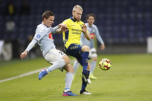 Johan Larsson (Br�ndby IF), Stefan Gartenmann (S�nderjyskE)