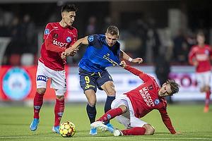 Samuel Mraz (Br�ndby IF), Svenn Crone (Silkeborg IF)