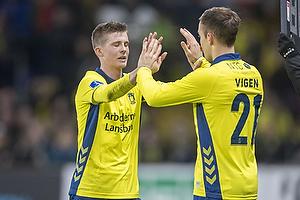 Morten Frendrup (Br�ndby IF), Lasse Vigen Christensen (Br�ndby IF)