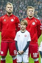 Christian Gytkj�r (Danmark), Daniel Wass (Danmark)