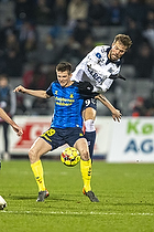 Morten Frendrup (Br�ndby IF), Patrik Mortensen (Agf)