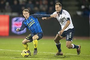 Simon Hedlund (Br�ndby IF), Niklas Backman (Agf)