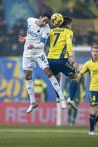 Carlos Zeca, anf�rer (FC K�benhavn), Dominik Kaiser (Br�ndby IF)