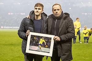 Mikael Uhre (Br�ndby IF), Carsten V. Jensen, fodbolddirekt�r (Br�ndby IF)