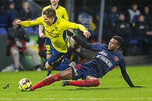 Dominik Kaiser (Br�ndby IF), Frank Onyeka (FC Midtjylland)