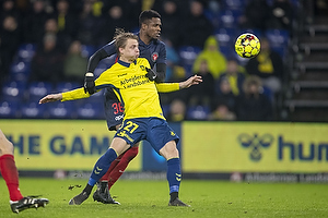 Simon Hedlund (Br�ndby IF), Frank Onyeka (FC Midtjylland)