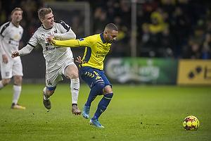 Kevin Mensah (Br�ndby IF), Mikkel M. Pedersen (Hobro IK)