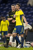 Michael Tykgaard, dommer, Kamil Wilczek (Br�ndby IF)