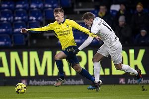 Lasse Vigen Christensen (Br�ndby IF), Edgar Babyyan (Hobro IK)