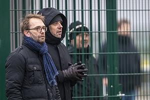 Ole Palm�, direkt�r (Br�ndby IF), Carsten V. Jensen, fodbolddirekt�r (Br�ndby IF)