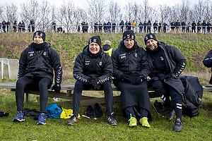 Jesper S�rensen, assistenttr�ner (Br�ndby IF), Niels Frederiksen, cheftr�ner (Br�ndby IF), Martin Retov, assistenttr�ner (Br�ndby IF), Ahron Thode, assistenttr�ner (Br�ndby IF)