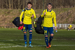 Jesper Lindstr�m (Br�ndby IF), Andreas Pyndt Andersen (Br�ndby IF)