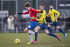 Nicolaj Agger (Hvidovre IF), Morten Frendrup (Br�ndby IF)